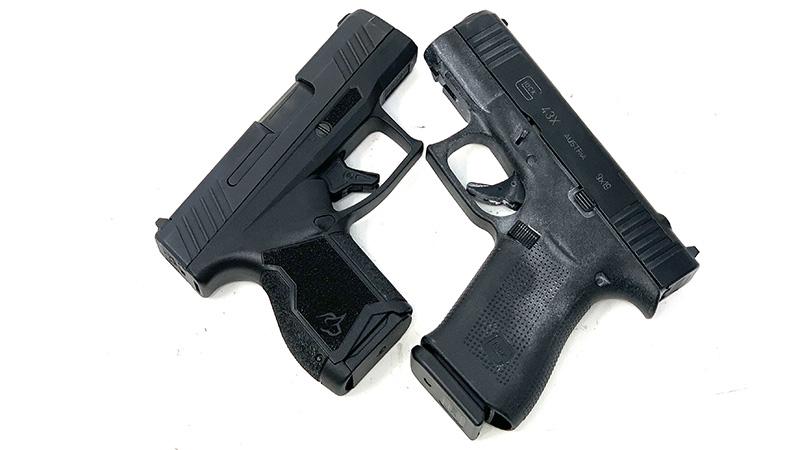 Glock 43x vs Taurus GX4 X