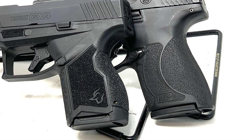 SW Shield Plus vs Taurus GX4 Grips