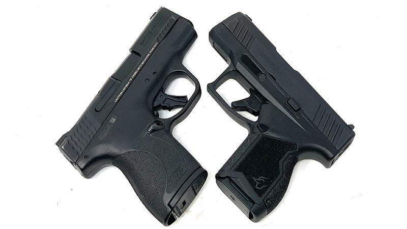 SW Shield Plus vs Taurus GX4 X