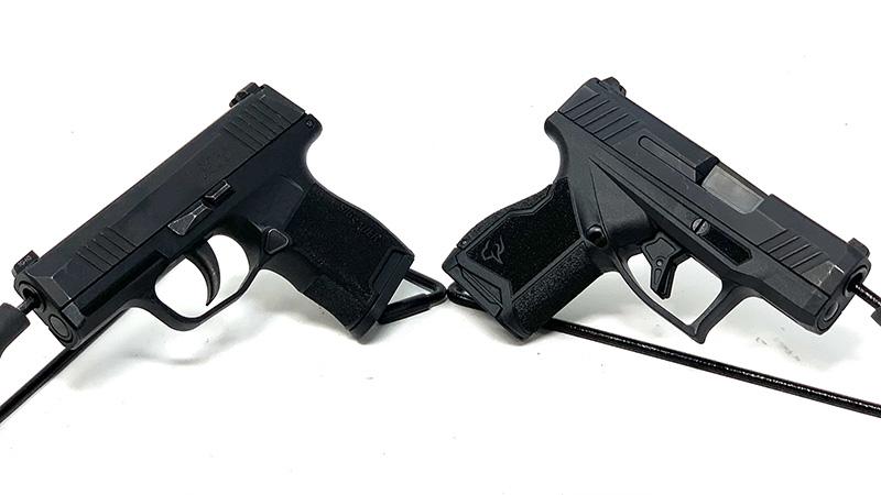 Sig P365 vs Taurus GX4 Away
