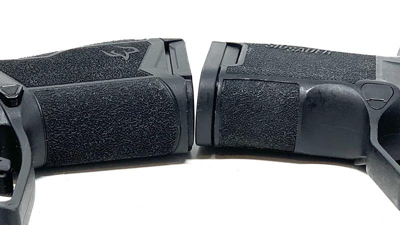 Sig P365 vs Taurus GX4 Frontstrap