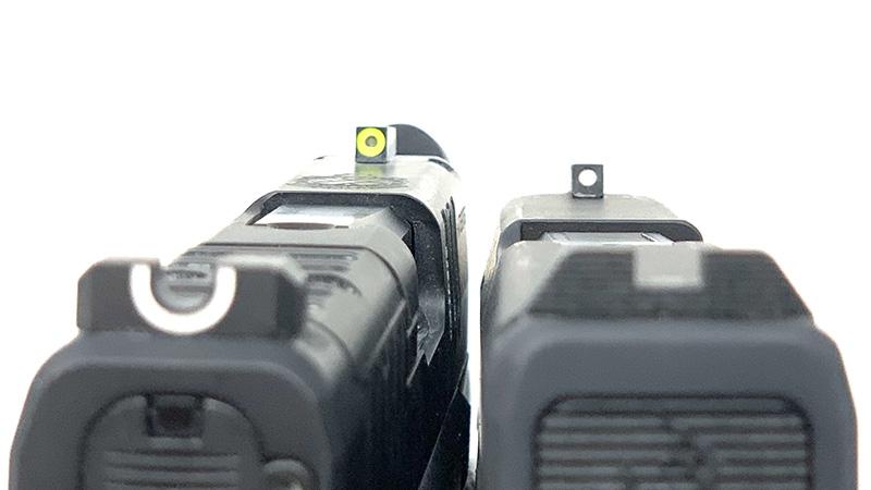 Springfield Armory Hellcat vs Taurus GX4 Sights