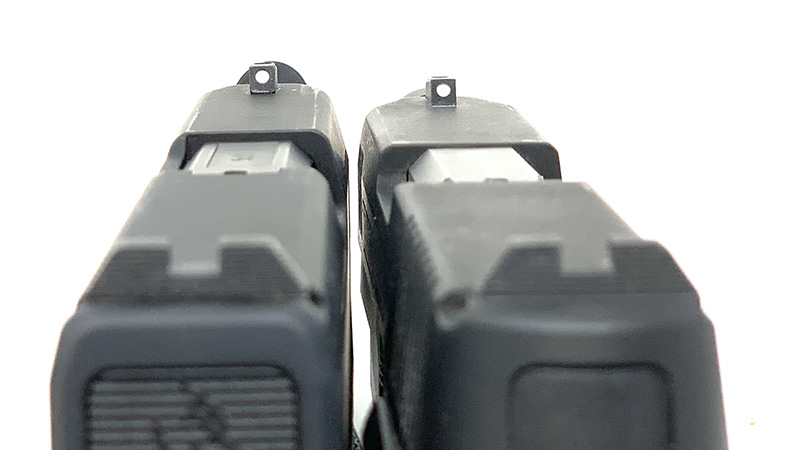 Taurus G3c vs GX4 Sights