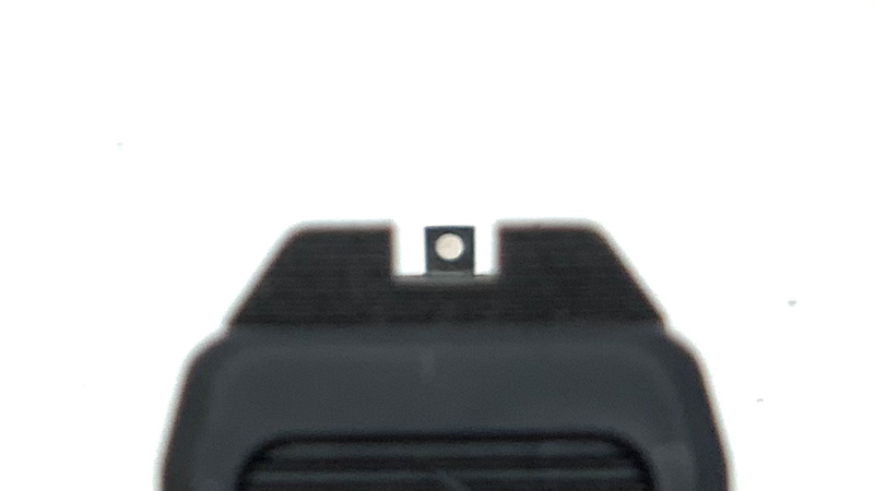 Taurus GX4 Review Sight Picture