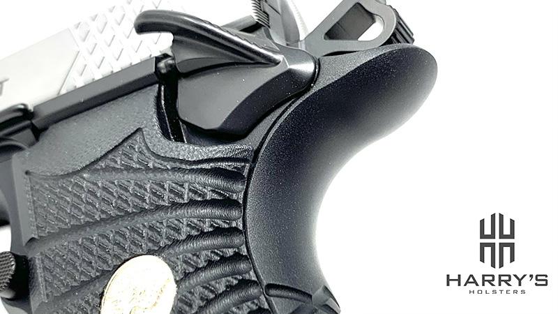 Wilson Combat EDC X9 Review beavertail