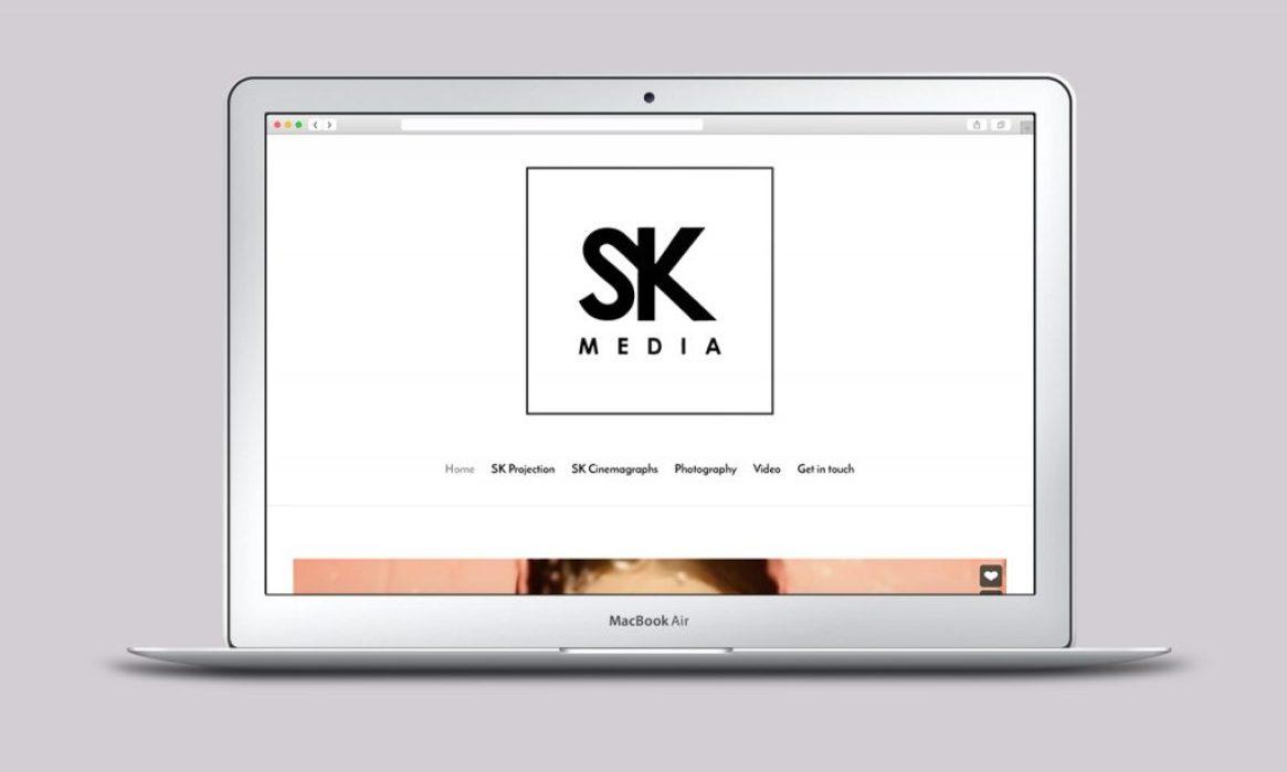 Simon King Media - Designed by Harry Vann
