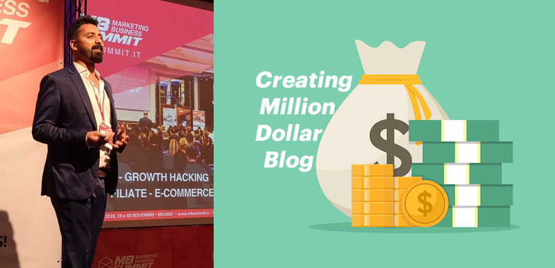 Creating A Million Dollar Blog: My Time At The Marketing Business Summit, Milan 2018 [Reflection]
