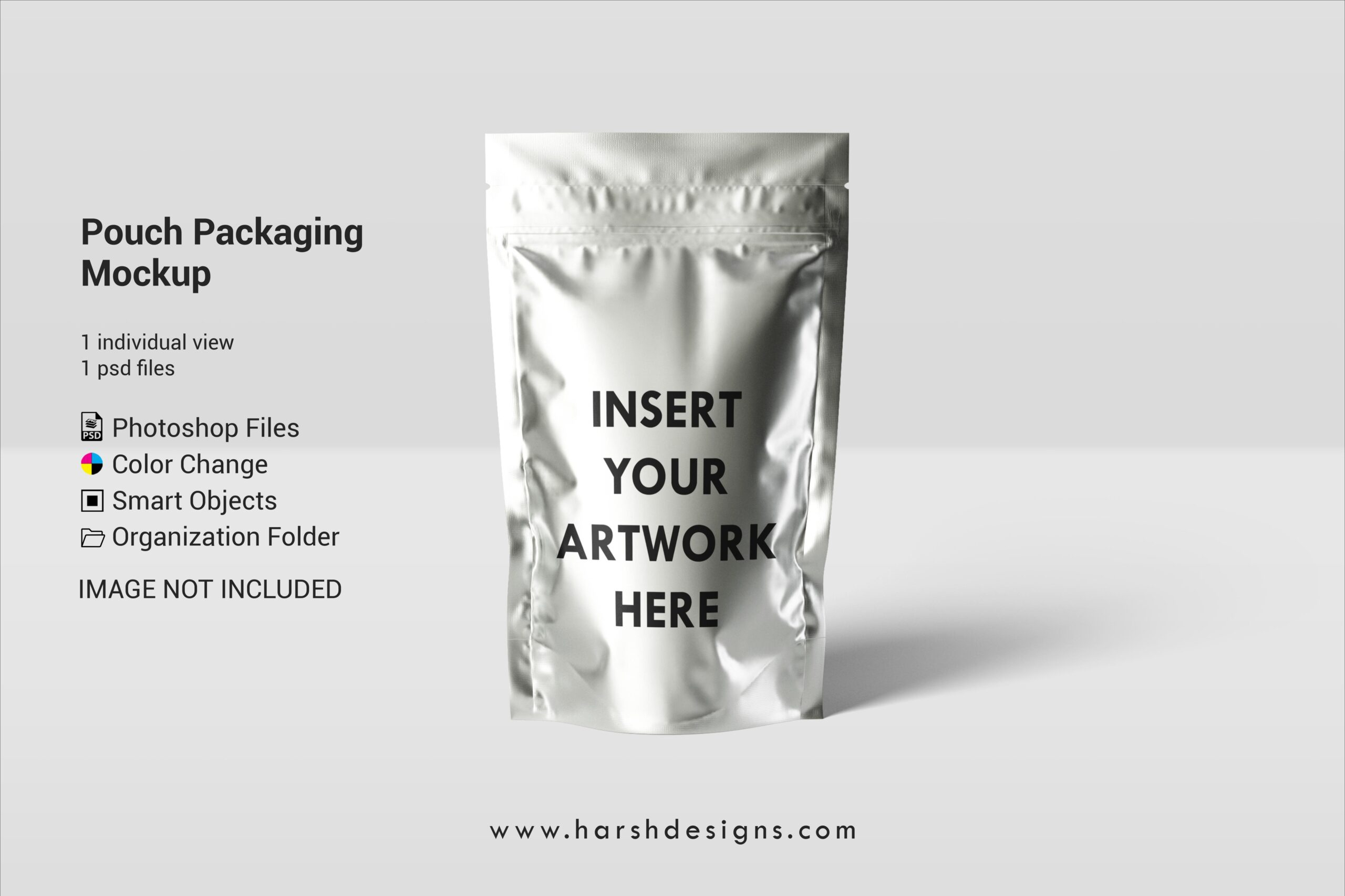 Harsh Designs Pouch Packaging PSD Mockup Packaging Branding Mockups scaled