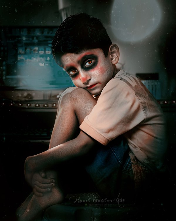 Zombie Effect in Photoshop-How to make anyone a Zombie in Photoshop-Zombie Photoshop Action
