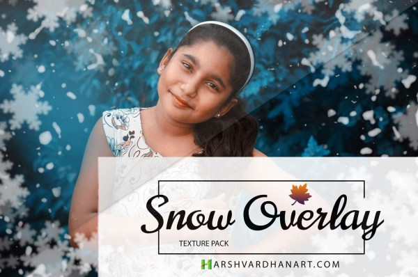 Snow-Overlays Photoshop