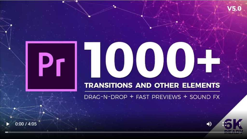 Seamless Transition for premiere pro