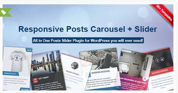 Responsive Posts Carousel WordPress Plugin download