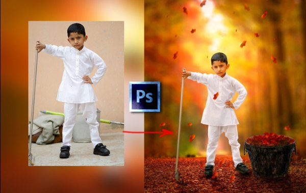 Learn Photo Composite Photo manipulation in Photoshop Full Course