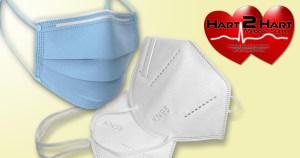 Hart2Hart.com, Quality Masks at Wholesale Prices, KN95, 3-ply masks. COVID-19. Corona Virus Protection