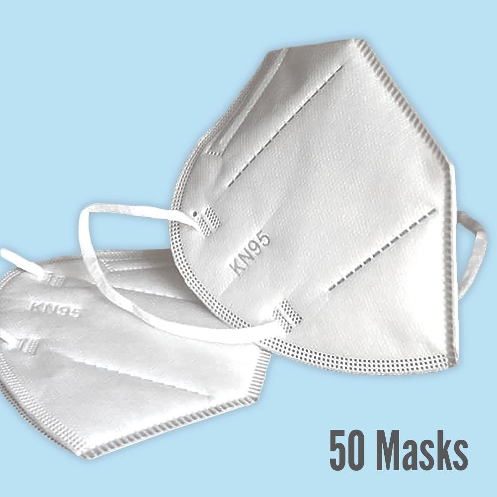 Premium KN95 Masks, 50 count  ($1.70 per mask)