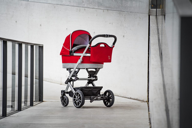 Hartan Mercedes-Benz stroller with Bag2Go in Hyacinth