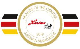 Hartan brand of the century logo