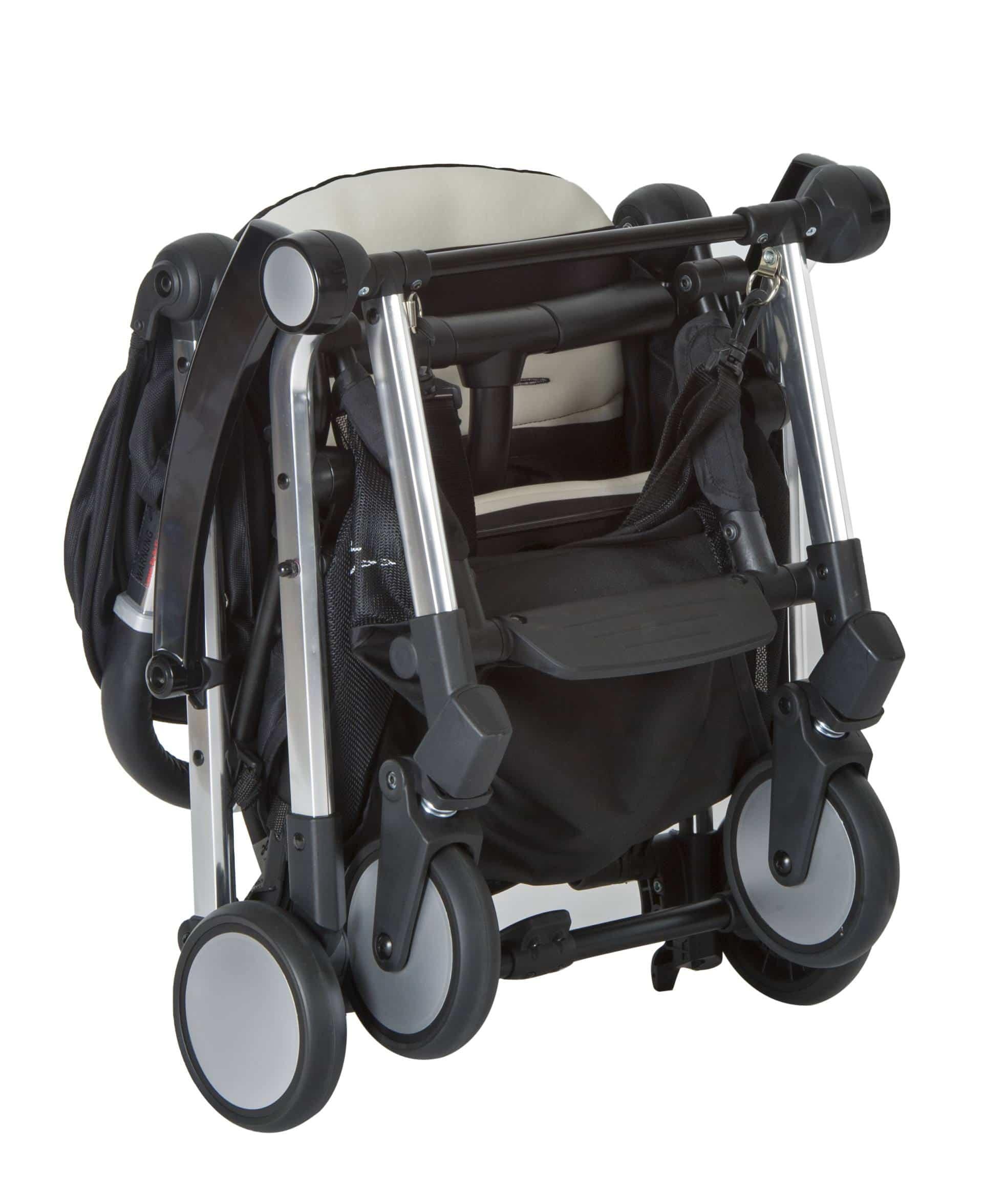 Bit stroller folded