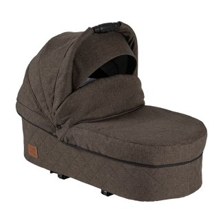 Two Select carrycot light brown