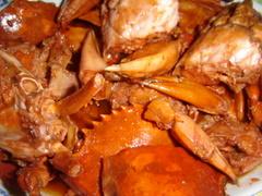 Kepiting Saus - Kenari