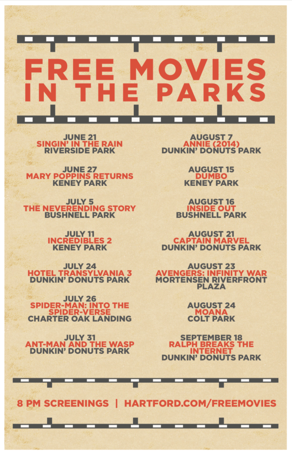 The Hartford Com >> Free Movies In The Parks Inside Out