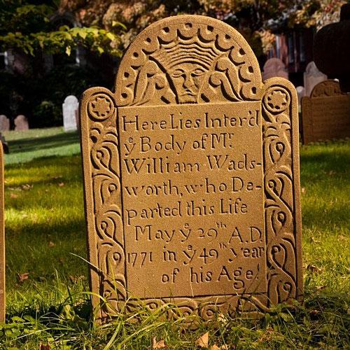 Ancient Burying Ground Hartford, CT