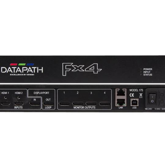 Datapath FX-4 HDMI Display Controller Rental | HTR
