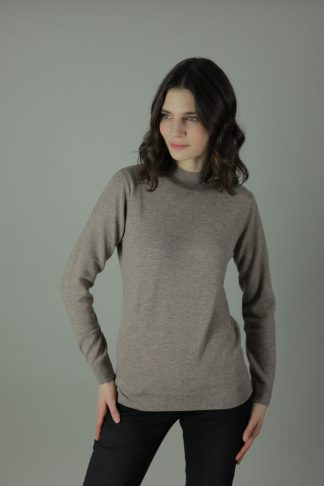 The Lorrie 100% cashmere turtle neck is the luxurious feel you want against your skin. Designed with comfort in mind our cashmere turtle neck compliments any outfit, both light and soft it will cool you in the summer months and leave you feeling cozy in the winter.