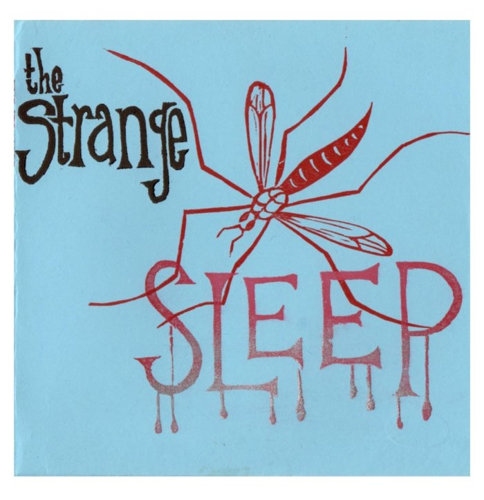 The Strange - Sleep - Front Cover - From Eli Records