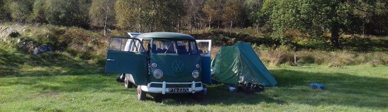 Last camping trip with van?