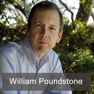 William Poundstone, author of Head in the Clouds