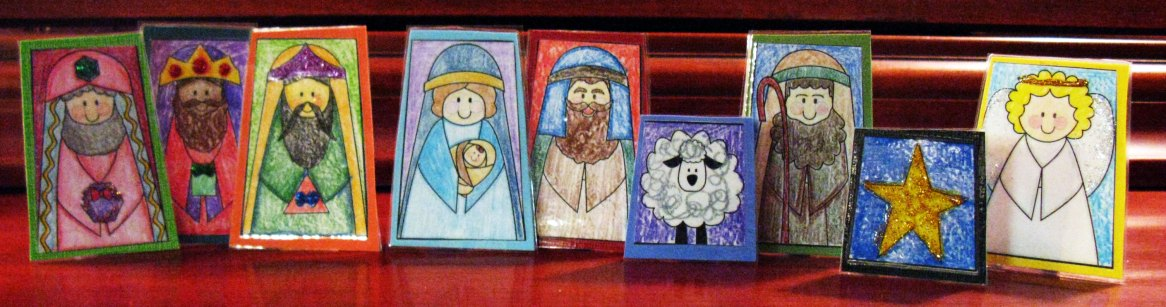 Printable Nativity for Laminating
