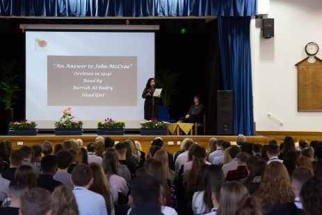 Remembrance Day Assembly 2019-9