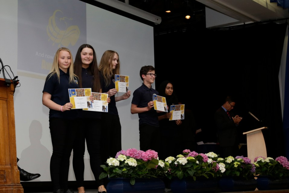 Year 9-10 Awards Evening 2018-20