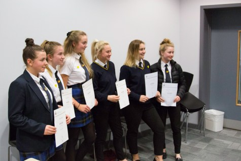 DofE Bronze Presentation Evening 2018 -21