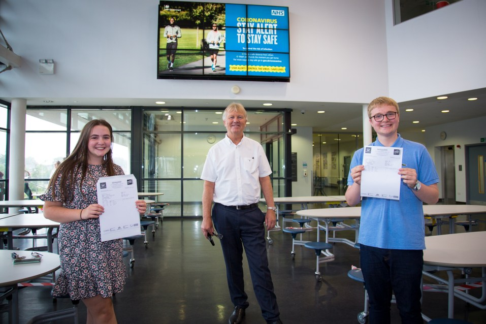 A Level Results Day 2020-9