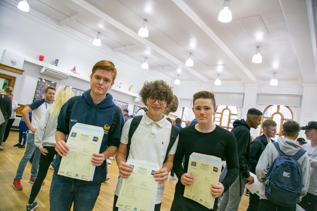 A levels Results 2018-105