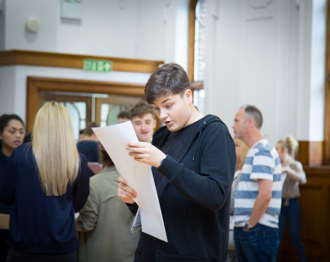 GCSE Results Day 2017 - -34