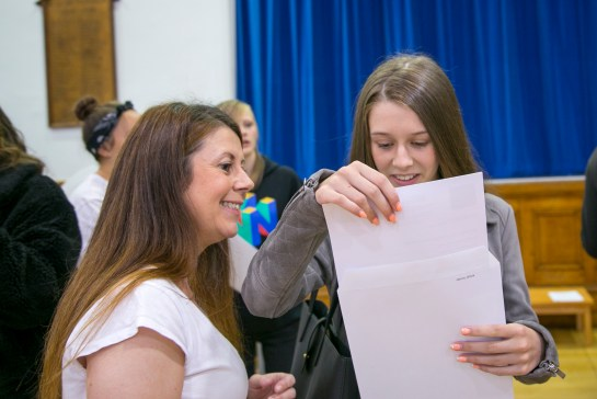 A levels Results 2018-160