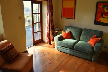 blue sofa lounge hartpiece farm