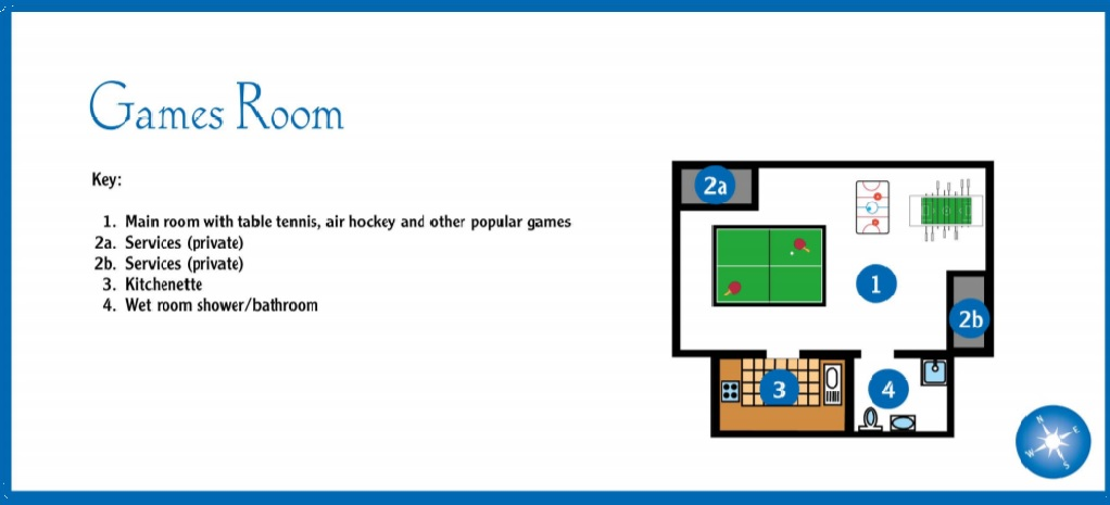 games room layout hartpiece