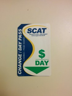 Day Pass, which also acts as a change card (these will be history once the new regional fare system is implemented).