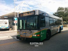 #1412 leaving the Downtown Sarasota Transfer Center on Route 12.