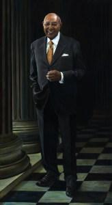 Congressman Louis Stokes full length portrait