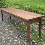 American Black Walnut Bench