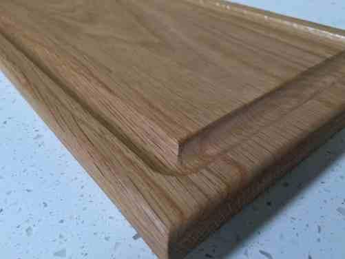 Oak carving board