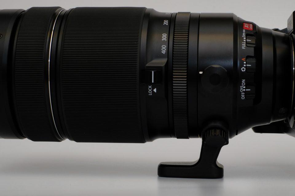 XF100-400mmF4.5-5.6 R LM OIS WR ブログ 脚座 レビュー