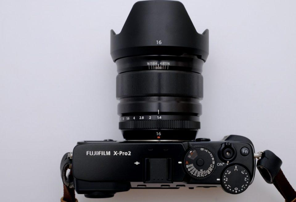 XF16mmF1.4 R WR X-Pro2