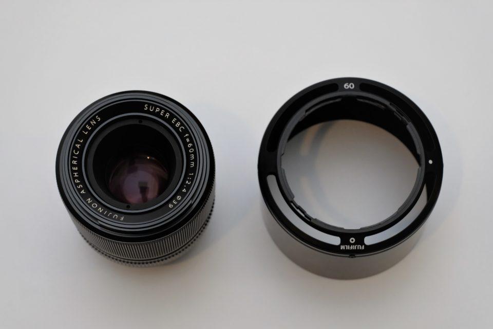 XF60mm F2.4 R マクロ フード