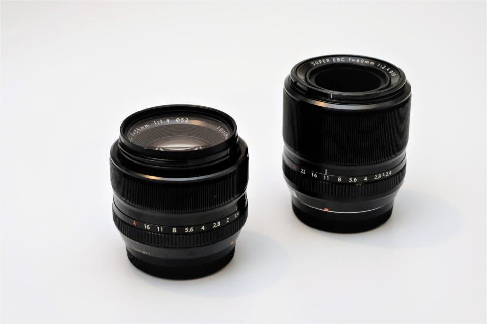 XF60 XF35 サイズ比較